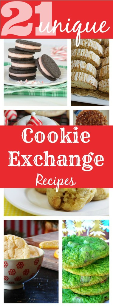 Unique holiday cookie exchange recipes