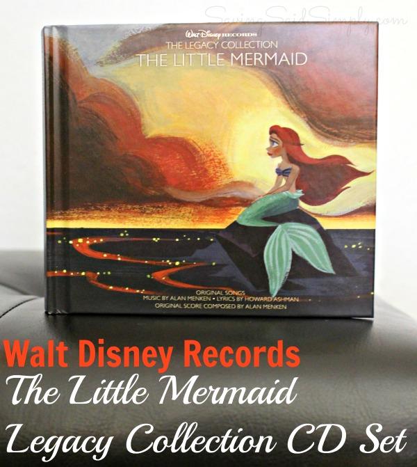 Disney little mermaid legacy cd
