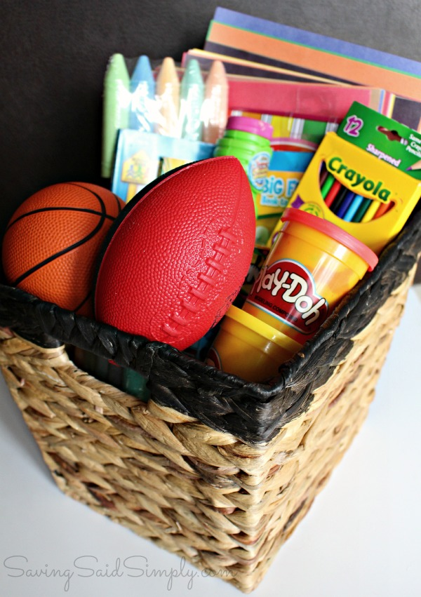 Game day party kids essentials
