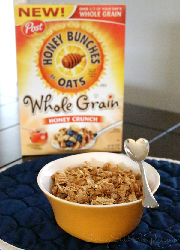 Honey bunches of oats whole grain review