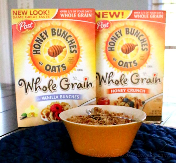 Honey bunches of oats whole grain
