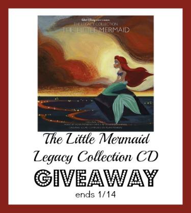 Little mermaid cd giveaway