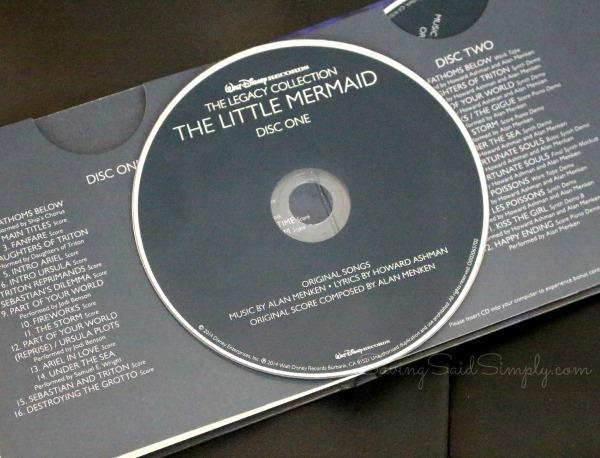 Little mermaid cd review
