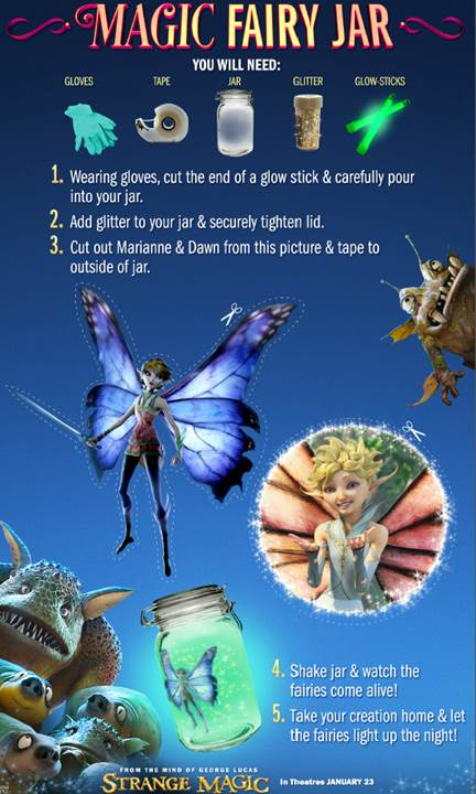 Strange magic movie free printables