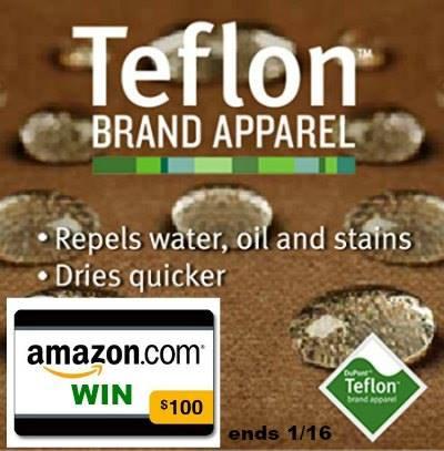 Teflon amazon gift card giveaway