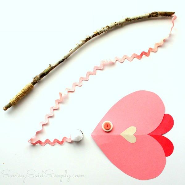 Valentines day craft fish