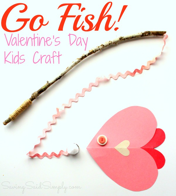 valentine crafts for kids s day craft go fish raising whasians 30824