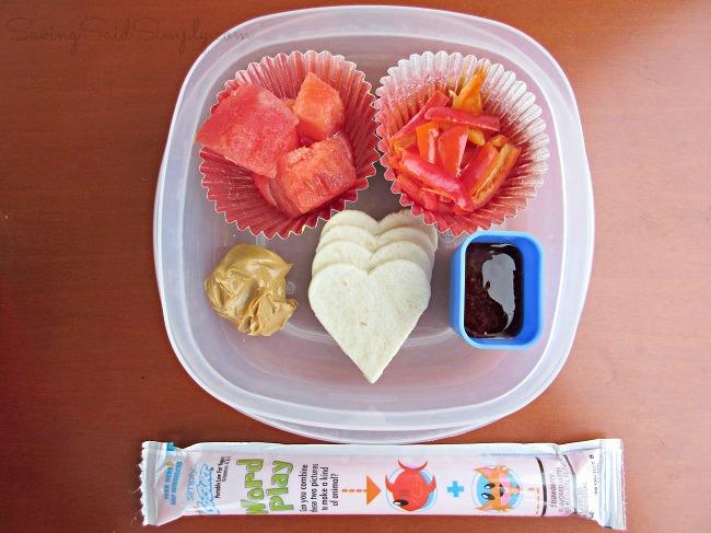 Valentine bento lunchbox