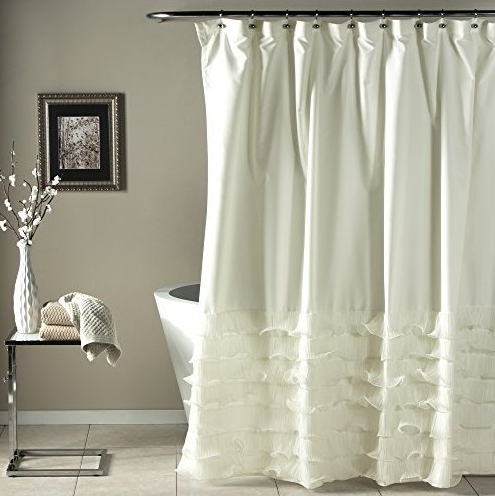 Lush d cor for your home design needs for Do shower curtains come in different lengths