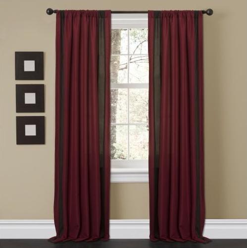 Lush decor window treatments