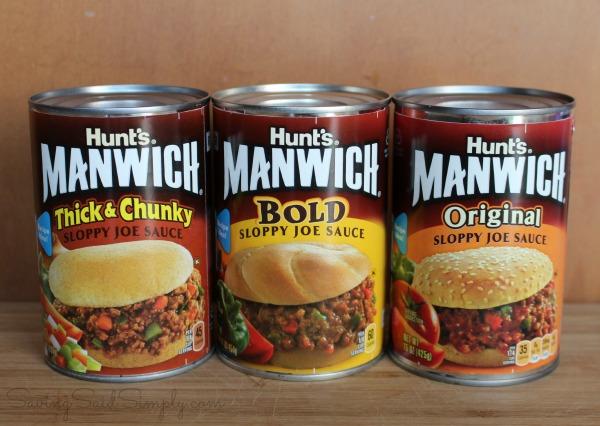 Easy manwich recipe