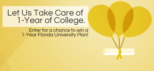 Florida prepaid scholarship giveaway