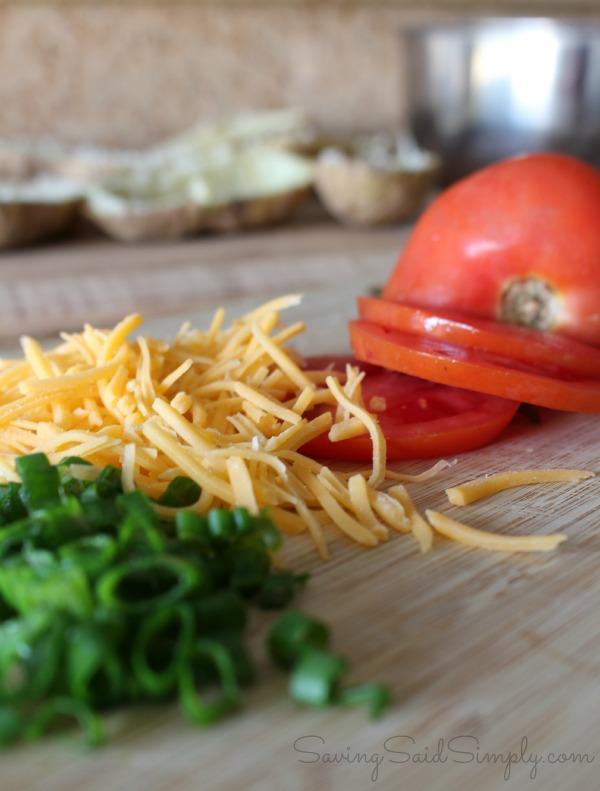 Potato skins recipe