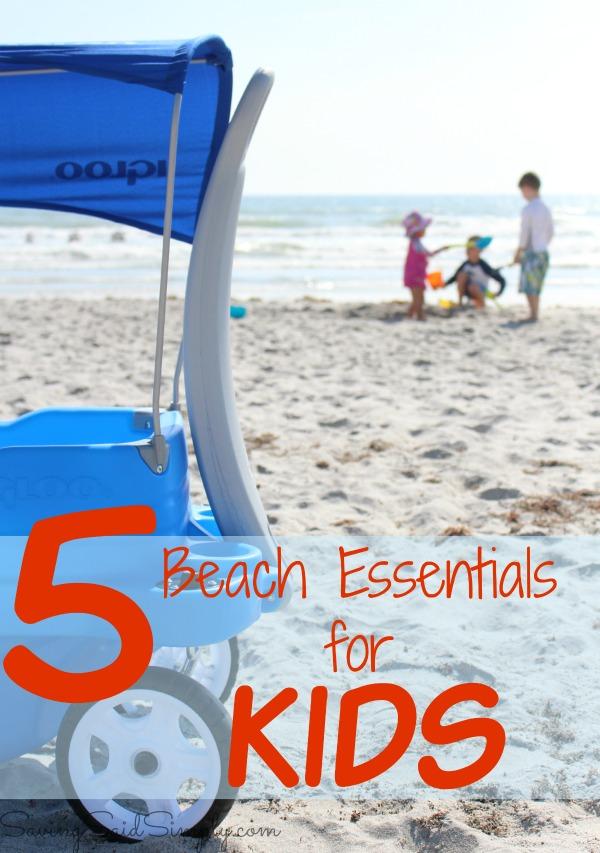 Beach essentials kids