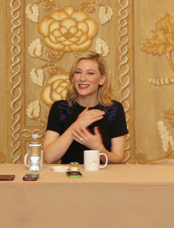 Cate Blanchett interview Cinderella