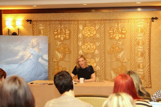 Cate Blanchett interview Disney Cinderella