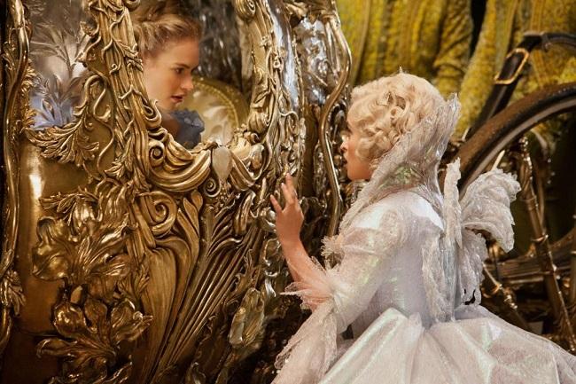 Cinderella interview Lily James
