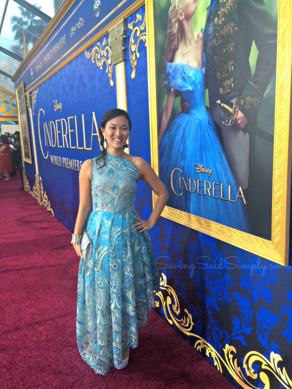 Cinderella movie premiere los angeles
