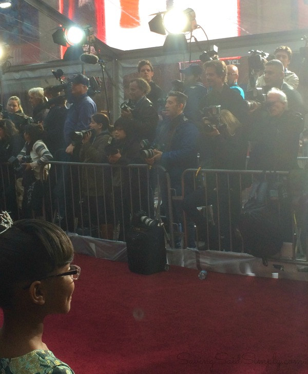 Cinderella premiere red carpet