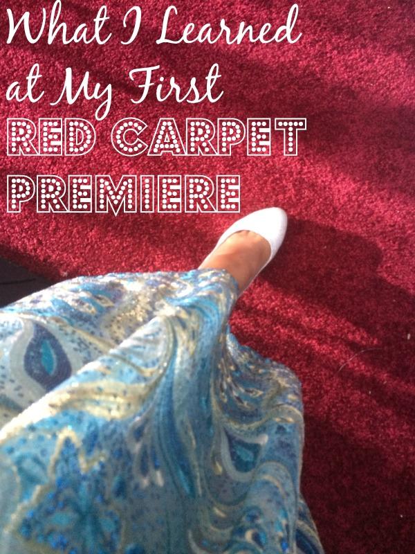 Cinderella red carpet journey