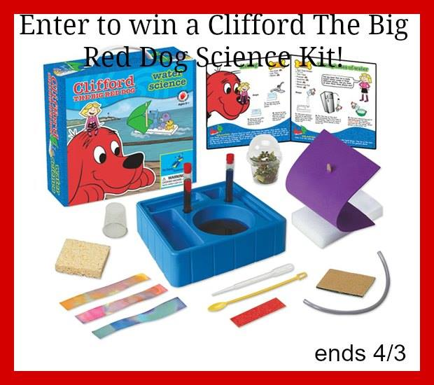 Clifford kids science kit giveaway