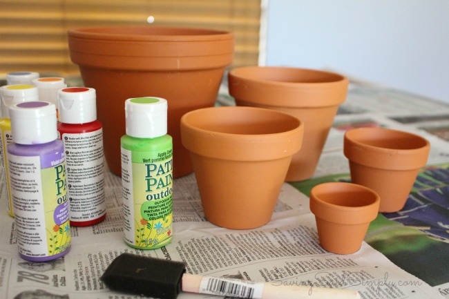 DIY garden craft