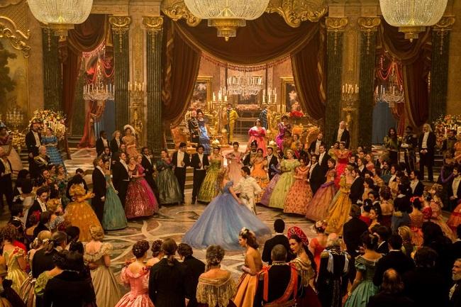Disney Cinderella interview Lily