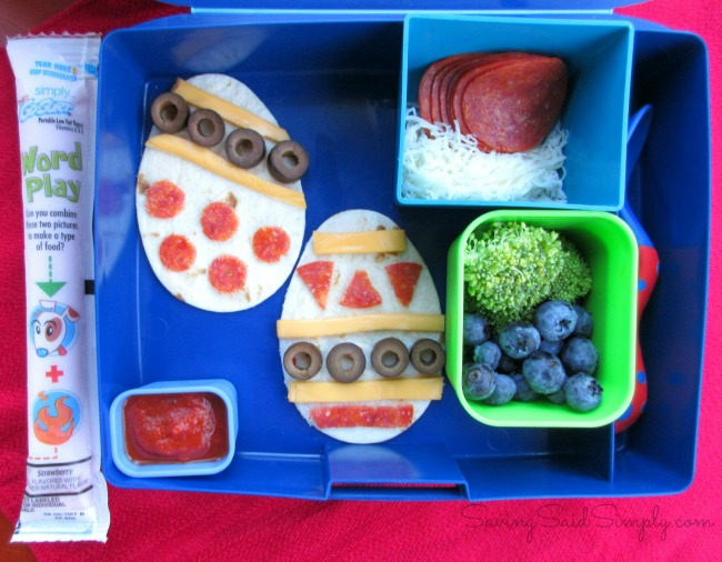 Easter inspired lunch