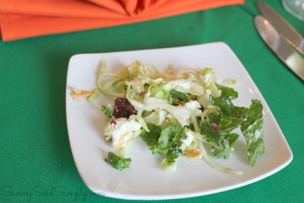 Epcot kale salad