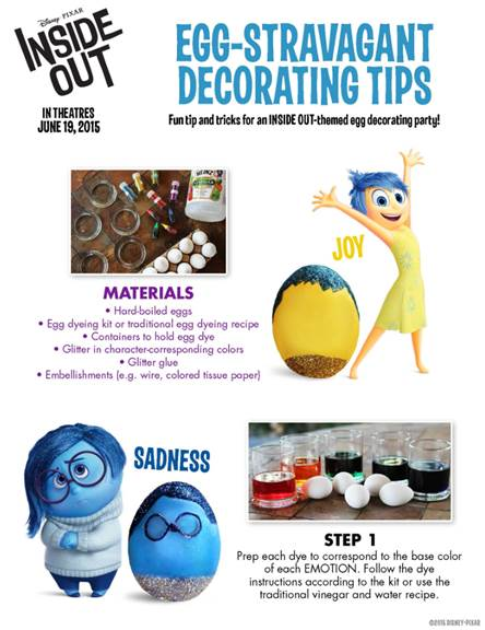 Free pixar inside out printables