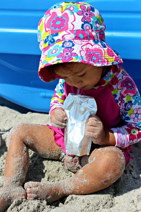 Hydration kids beach