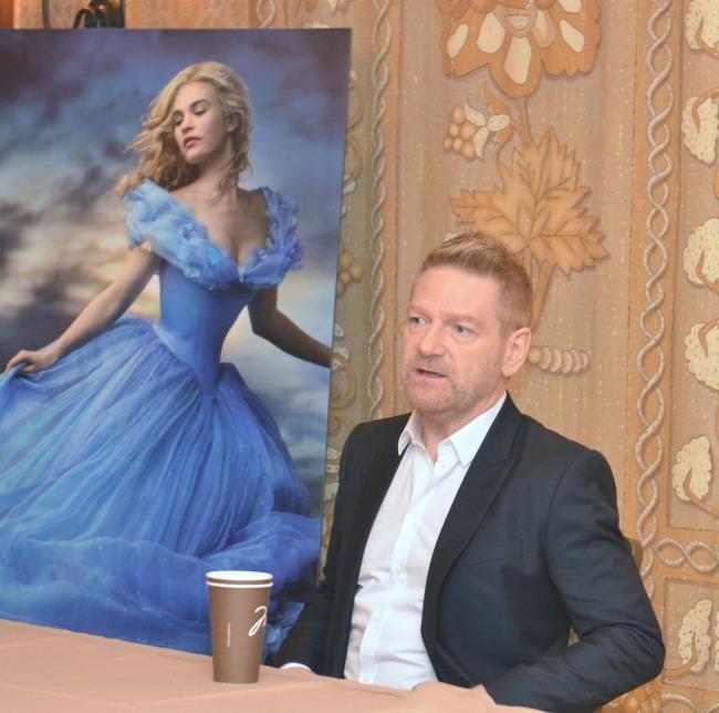 Kenneth Branagh Cinderella interview