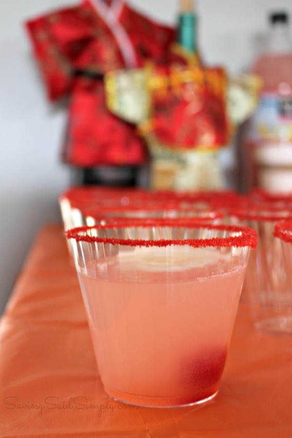 Kids party drink recipe
