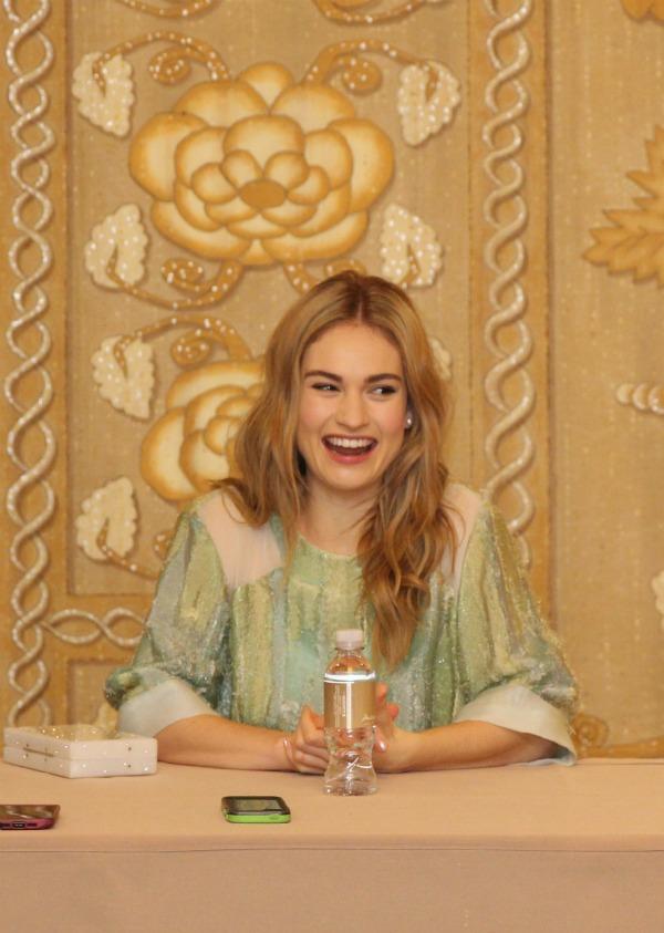 Lily James Disney Cinderella interview