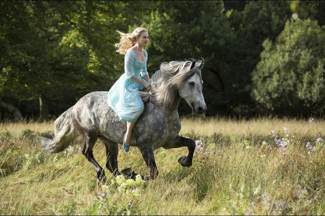 Lily James interview Cinderella