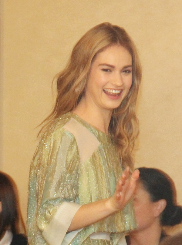 Lily James exclusive interview