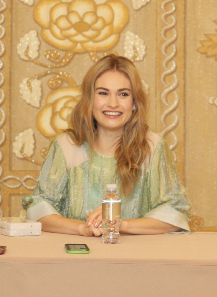 Lily James exclusive Cinderella interview