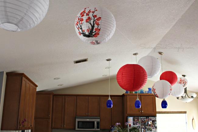 Mulan party decor