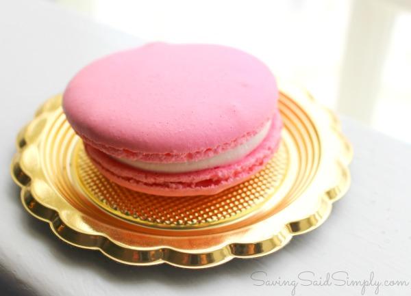 Pink macaron Epcot