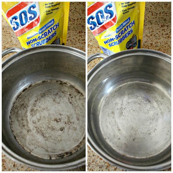 SOS scrubbing pad review