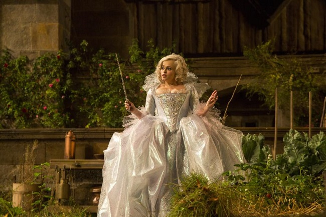 Sandy Powell costume interview fairy godmother