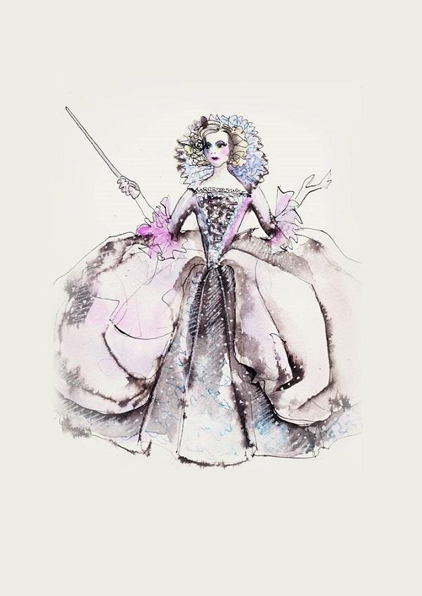 Sandy Powell interview Cinderella costumes