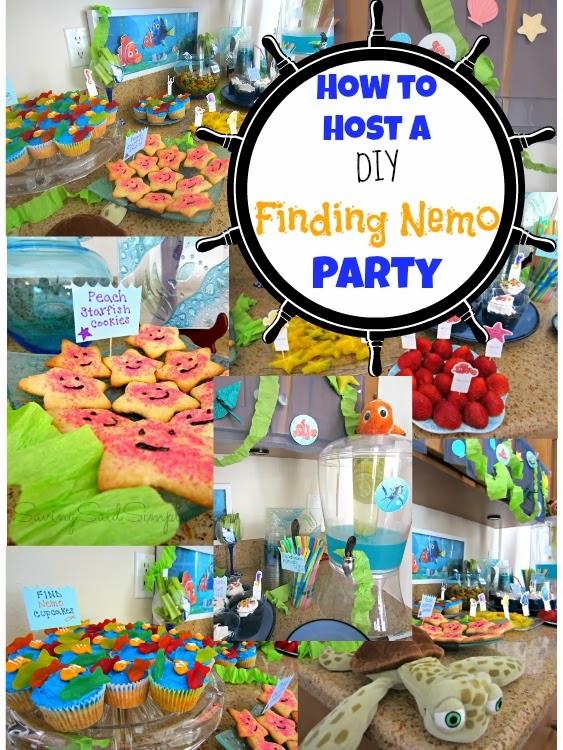 DIY finding nemo party