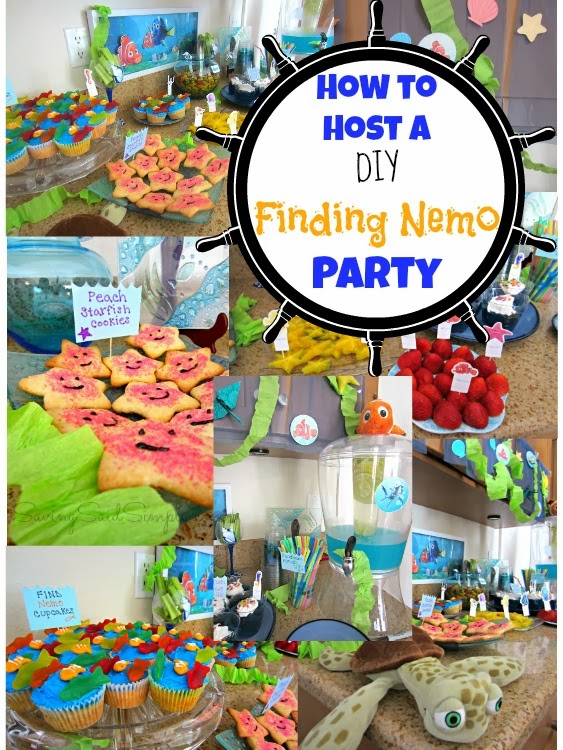 DIY finding nemo party
