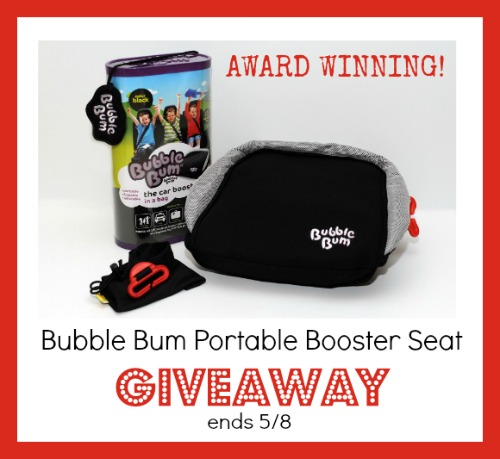 Bubble bum giveaway