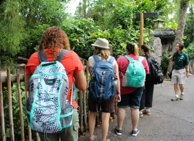 Disney animal kingdom backstage tales tour tips