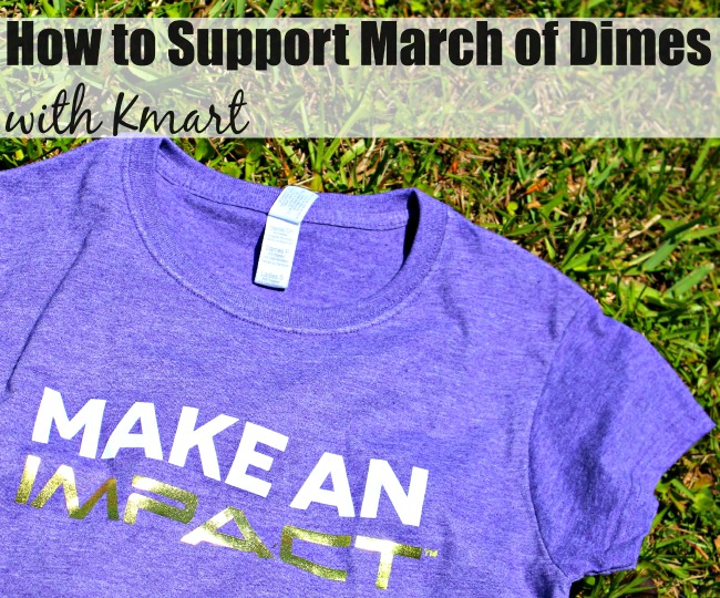 How to support march of dimes Kmart