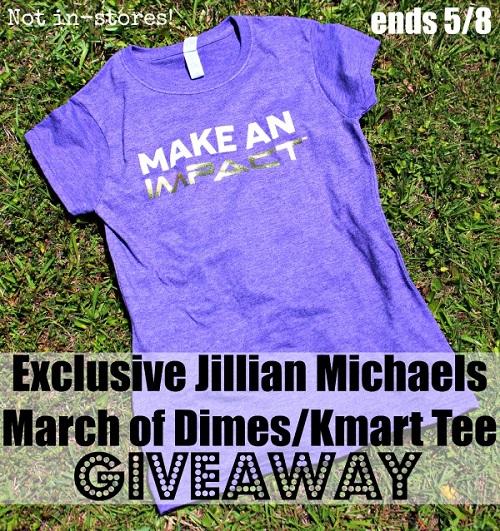 Kmart giveaway Jilian Michaels tee