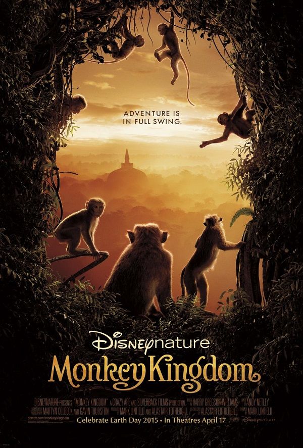 Monkey kingdom movie poster