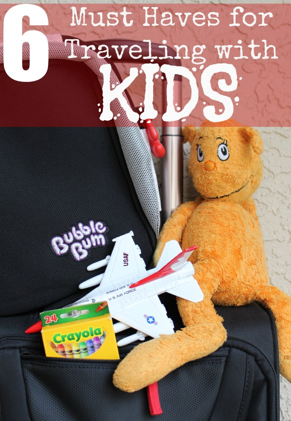 Must haves for traveling with kids
